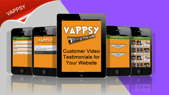 Video testimonials for your website.
