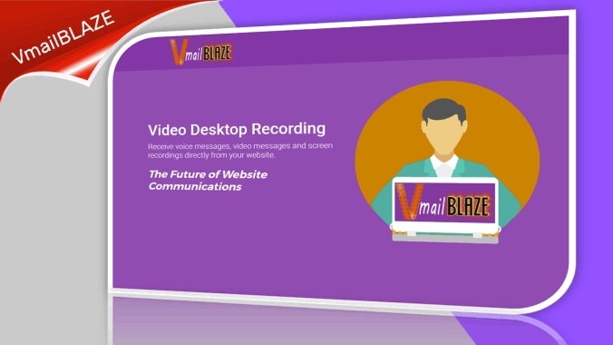 Video email for your website.